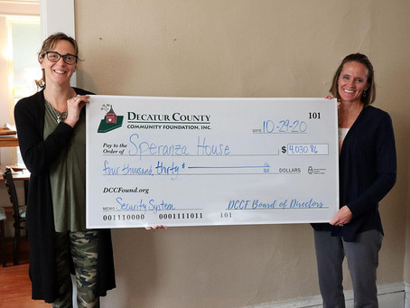 Recovery & Prevention Grant Awarded to Speranza House