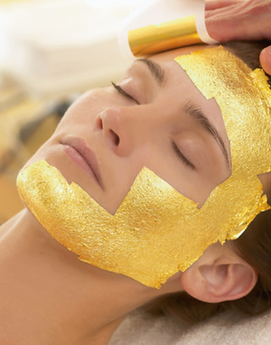 Gold Leaf Body & Facial Treatment Mask