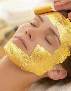 Gold Leaf Body & Facial Treatment Mask