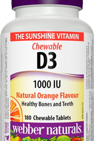 Chewable Vitamin D3 1,000 IU