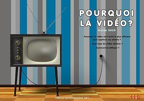 Couverture du livre blanc Pourquoi la vidéo ? de TaisToiDonc Film d'entreprise toulouse