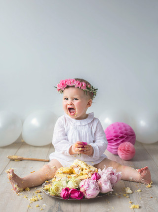 first birthday cake smash photoshoot Killarney co.Kerry