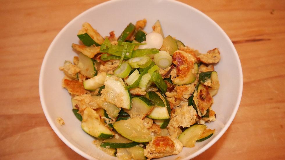 Zucchini Rührei