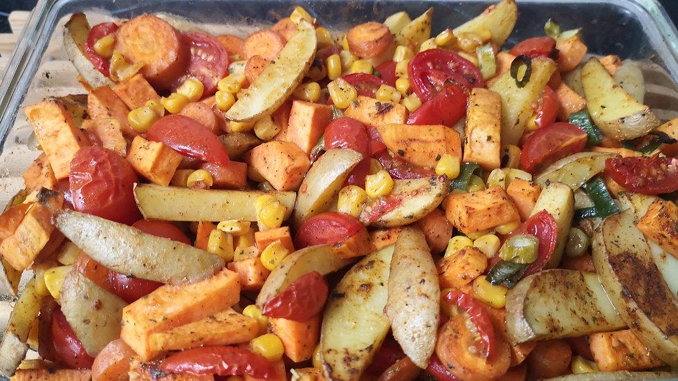 Kartoffel/Süßkartoffel Spalten