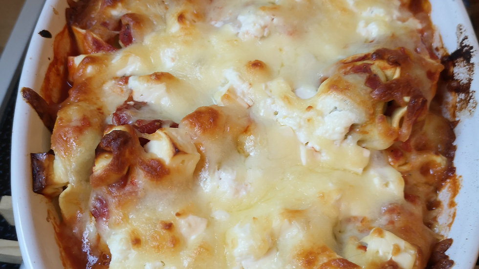 Zucchini Feta Lasagne