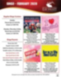Bingo Schedule - February 2020 - Elk Valley Casino