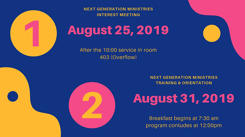 Next Generation Ministries interest meet