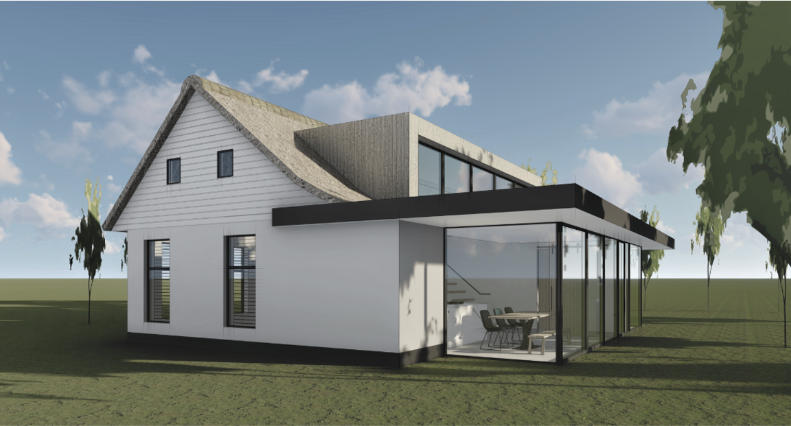 Render 3D-visualisatie