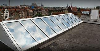 zonwerende folie dak