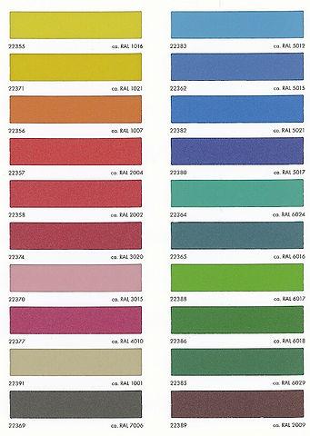 kleuren glasfolie palet 2