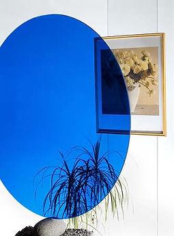 kleuren glasfolie blauw