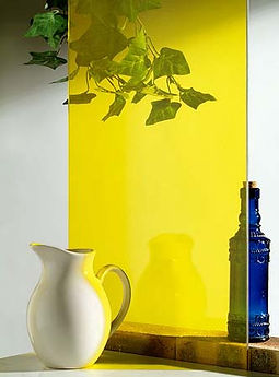 kleuren glasfolie geel