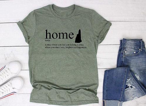 Home t shirt