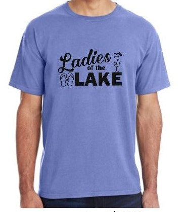 Ladies of the Lake Pigment Dyed T shirt