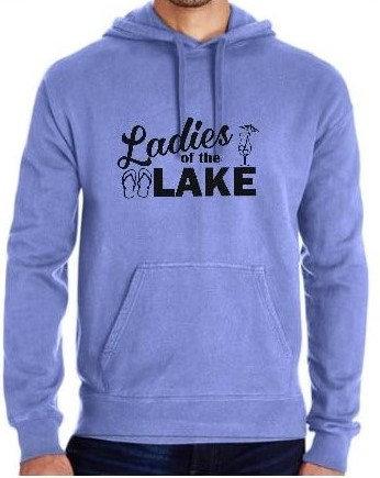 Ladies of the Lake Pigment Dyed Sweatshirt