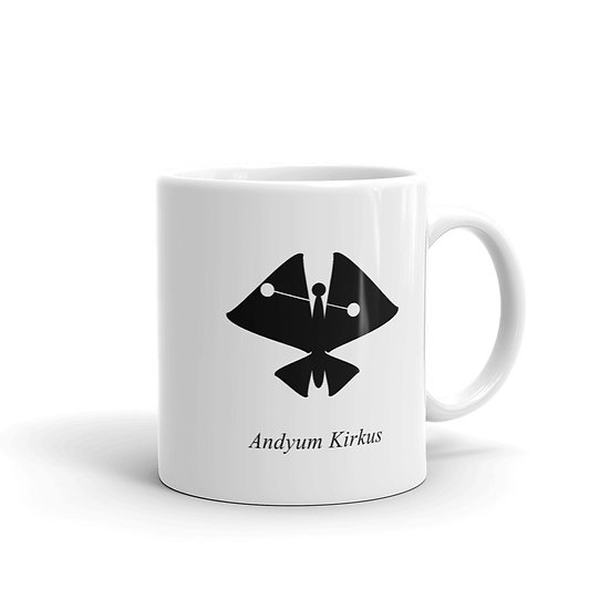 Datavizbutterfly - Andyum Kirkus - Mug