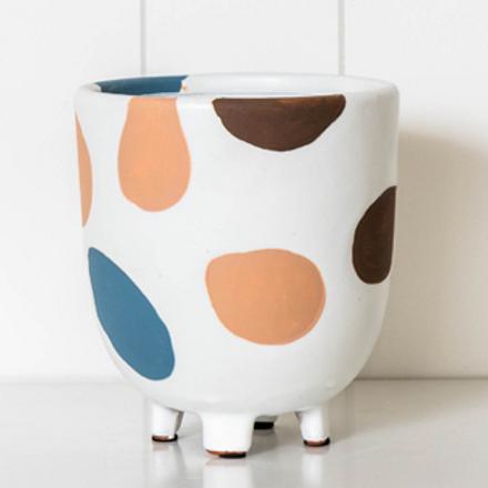Handmade Ceramics - Matisse Shape Planter - 14x16