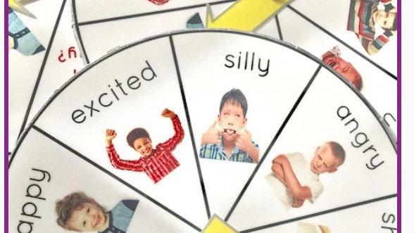 Handmade Emotions wheel
