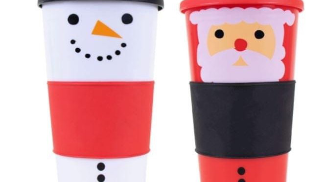 Christmas Outdoor/Travel Cup