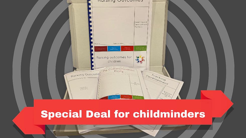 Childminding children's documents starter pack