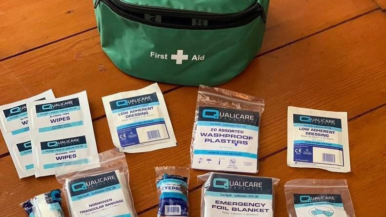First Aid Bum Bag with contents