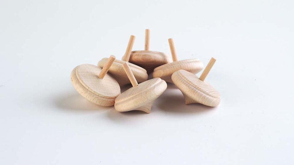 Wooden Onion Tops - Pk6