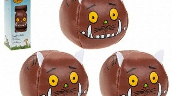 GRUFFALO JUGGLING BALLS 3 PIECE SET IN GIFT BOX TOY PRESENT FREE P&P