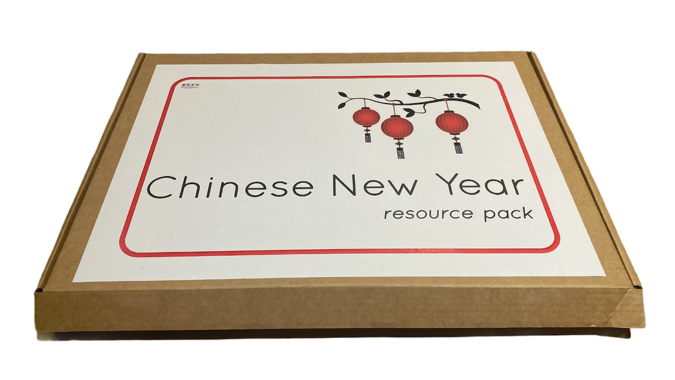 A5 Letterbox Chinese Resource - uncut