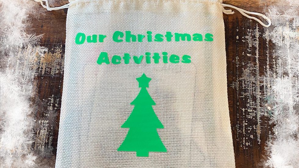 Our Little Christmas activity Sack