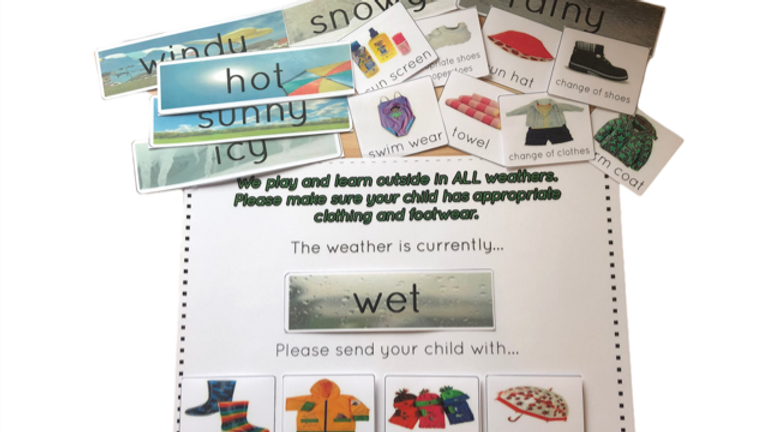 Laminated Notice Weather Board A3
