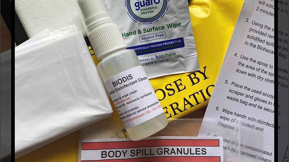 Single use Bio hazard Kit