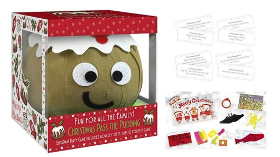Pass the Parcel Pudding and Sprout