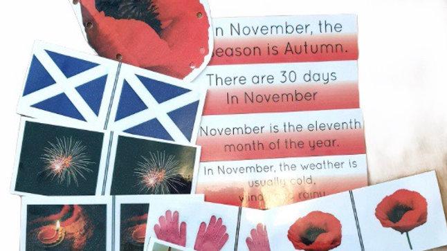 November Resource pack