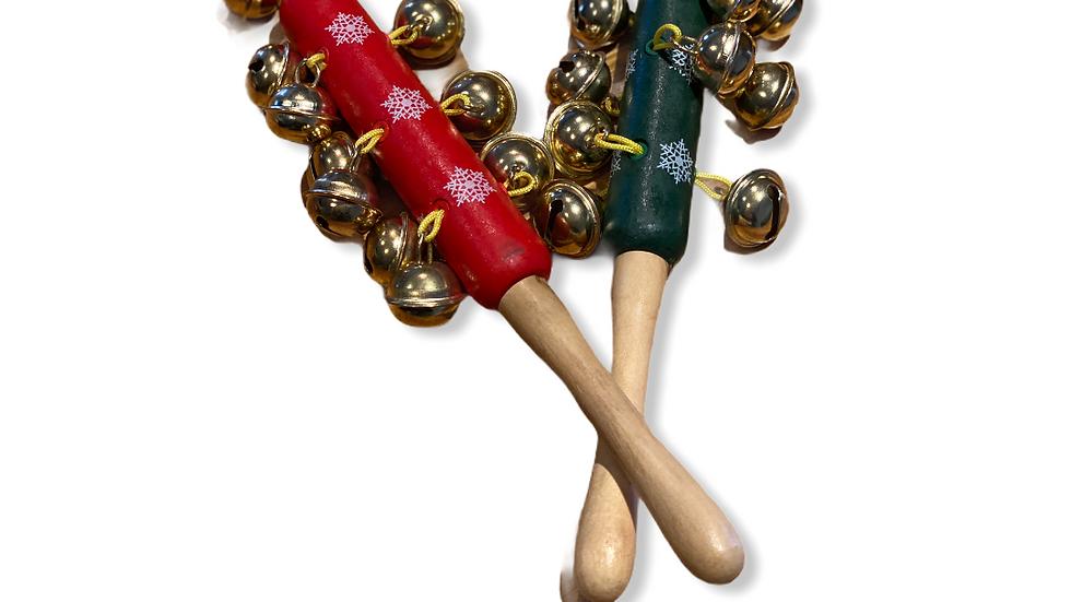 Wooden jingle Bells