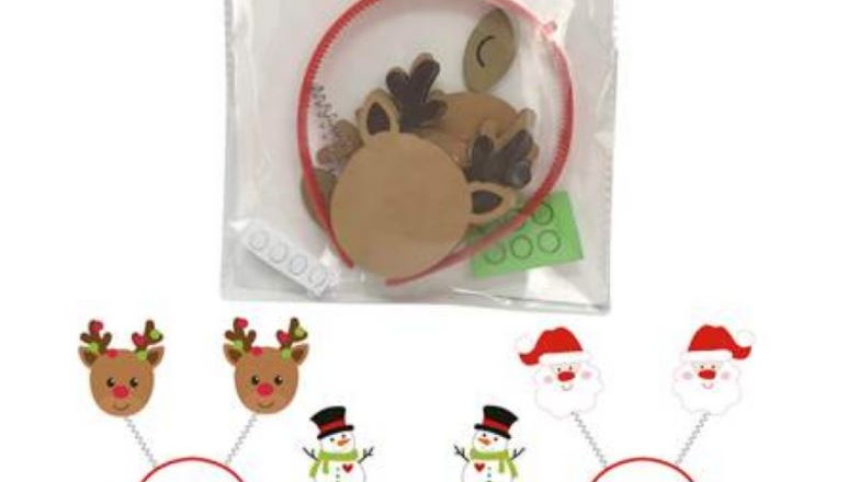 Make Your Own Xmas Head Boppers