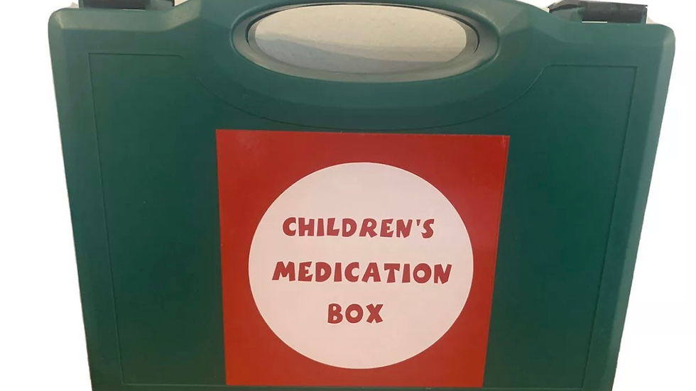 Childminding / Childcare Medication Box