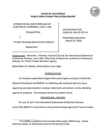 PERB  Decision - Case No. SA-CE-1017-M_P