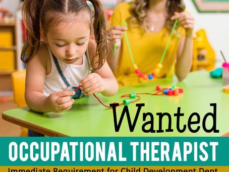 Occupational Therapist- Jobs in Kollam, Kerala Urgent Opening at Pranaah Child Development Center