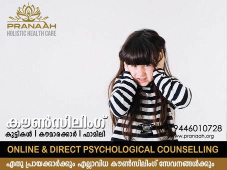 Counseling for Children in Kollam & Kottarakkara- Pranaah Top Child Psychologists Near Me