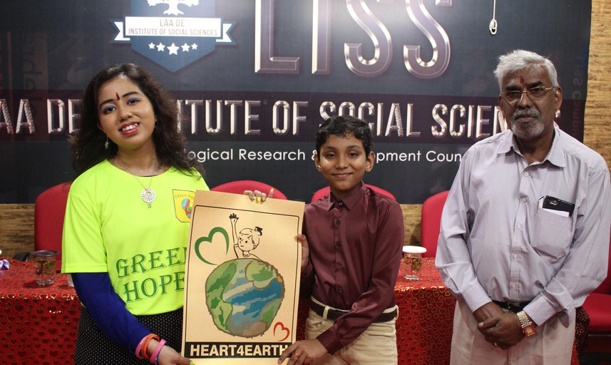 Logo launching of Heart for Earth by Keh