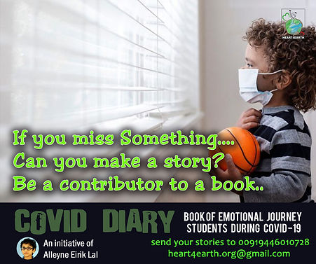 Covid Diary 2021 International Book of E