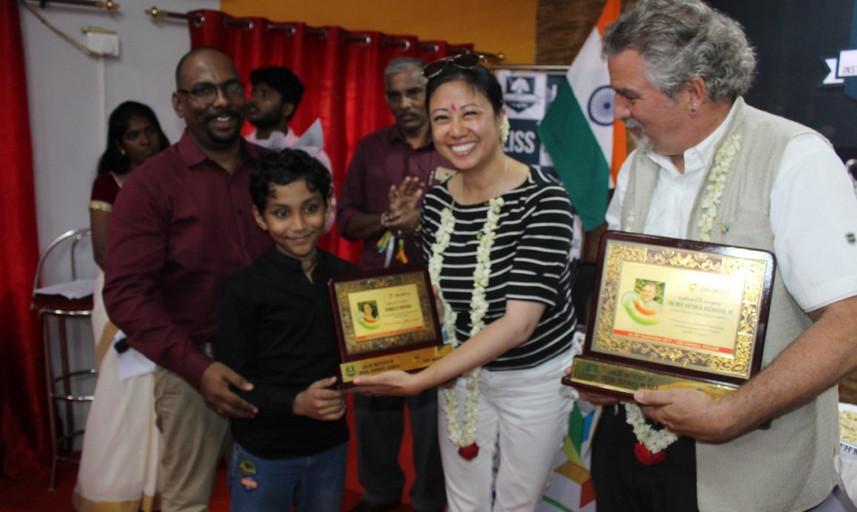 URI Zero Limits CC India GSO Team Visit