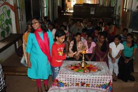 Inauguration of activities Poomaram Bala