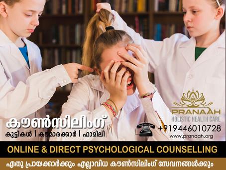 Counseling for Teens in Kollam & Kottarakkara - Pranaah Counselling Center Top Psychologist Kerala