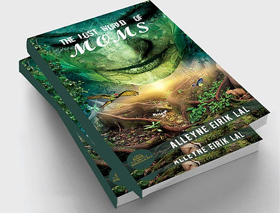 the lost world of moms- book by alleyne