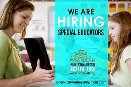 Special Educator-wanted-Pranaah-Autism-C