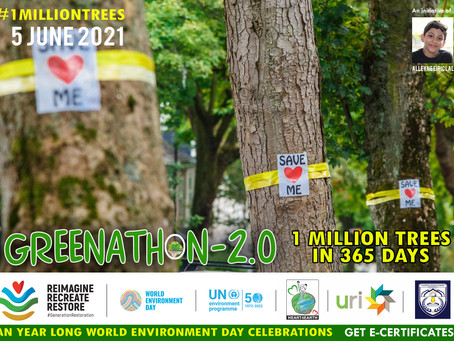 #GREENATHON 2.0 - Campaign by Alleyne Eirik Lal