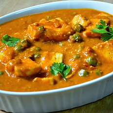 Mutter Aloo or Paneer
