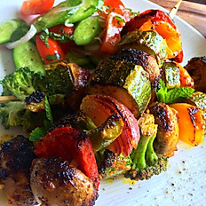 Tandoori Vegetable Grill