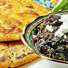 Sarson Ka Saag with Makki ki Roti